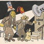 Cartoon published in Slovakia, 1958. via @BojanSolaja https://t.co/EzVDdPN3SU