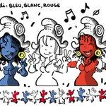 VENDREDI-Bleu, Blanc, Rouge. https://t.co/To3sMBa63o