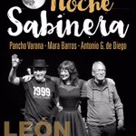 Una de las grandes voces de este país, @Marabarros7, estará en #leonesp!!! @NocheSabinera 🔝  https://t.co/ctlOuJSVnJ https://t.co/ENr763q7kt