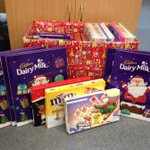 Lots of advent calendars & selection boxes ready to be dropped off at our local #foodbank :) #donate #Christmas https://t.co/05GyoFXK9D