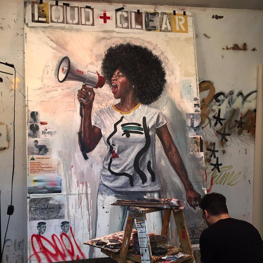 WOW @TimOkamuraArt! WOW! #BlackGirlInspiration! https://t.co/ECnHOA3tvN