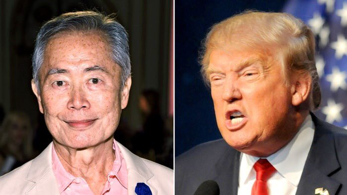 He's here. @GeorgeTakei is coming up on @PIX11News at 515 -  @allegiancebway talking @realDonaldTrump https://t.co/LMsiLCFKch