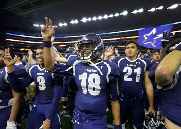 Good luck to @LSHSRangers in state semifinals at 7:30 tonight. Can't make game? Watch at https://t.co/k3Vh3t5xmW https://t.co/kp7NcBHvdI