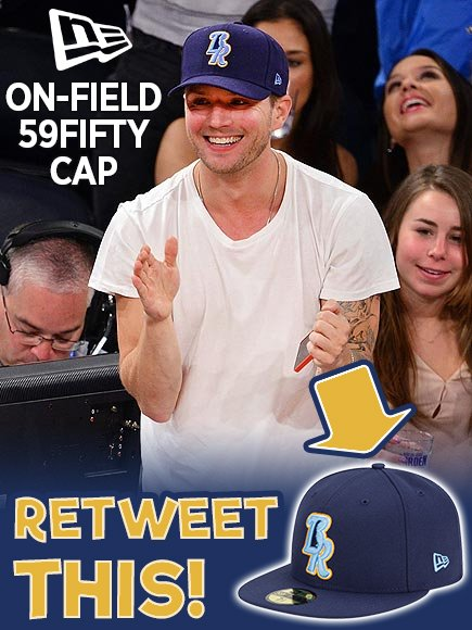 Fifth Day of #Tixmas! RT this for chance to win a Blue Rocks @NewEraCap - just like the one Ryan Phillippe has on! https://t.co/lnKisdl4Sd