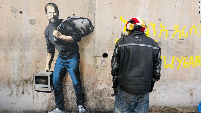 https://t.co/iMTItoWNeu that Steve Jobs iBanksy is lit