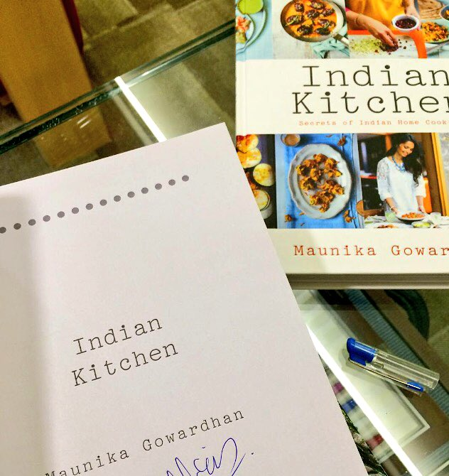 Subscribe to https://t.co/zUDvZFXqab & RT for chance to WIN signed copies of Indian Kitchen & a gift hamper! #curry https://t.co/WbKcAmexYO