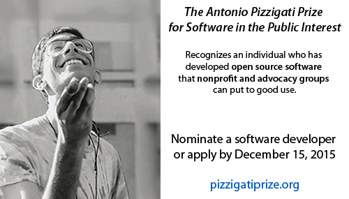 Please share: Only four more days to nominate or apply for this #opensource software award! https://t.co/5mUEWVQGG2 https://t.co/GQuf2Wgsvb