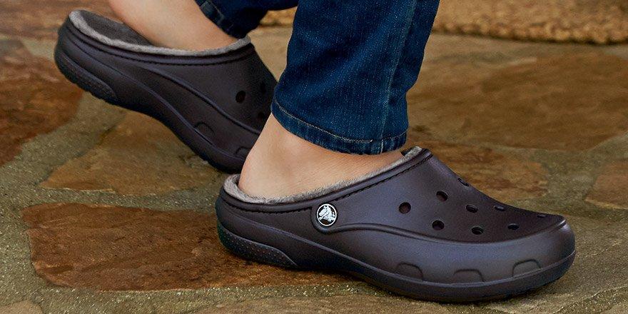 A slimmer, sleeker, women's-only Crocs Clog? It's now warmer, too. https://t.co/1Yl4VbqoXh https://t.co/q5wgCjIRNI