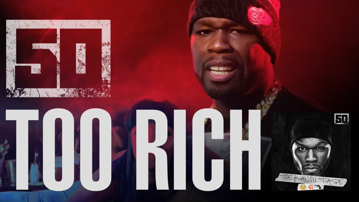 RT @thisis50: Faya! @50cent just dropped the official music video for TOO RICH. Check it out now: https://t.co/BeQyjfv2WI https://t.co/jd0s…