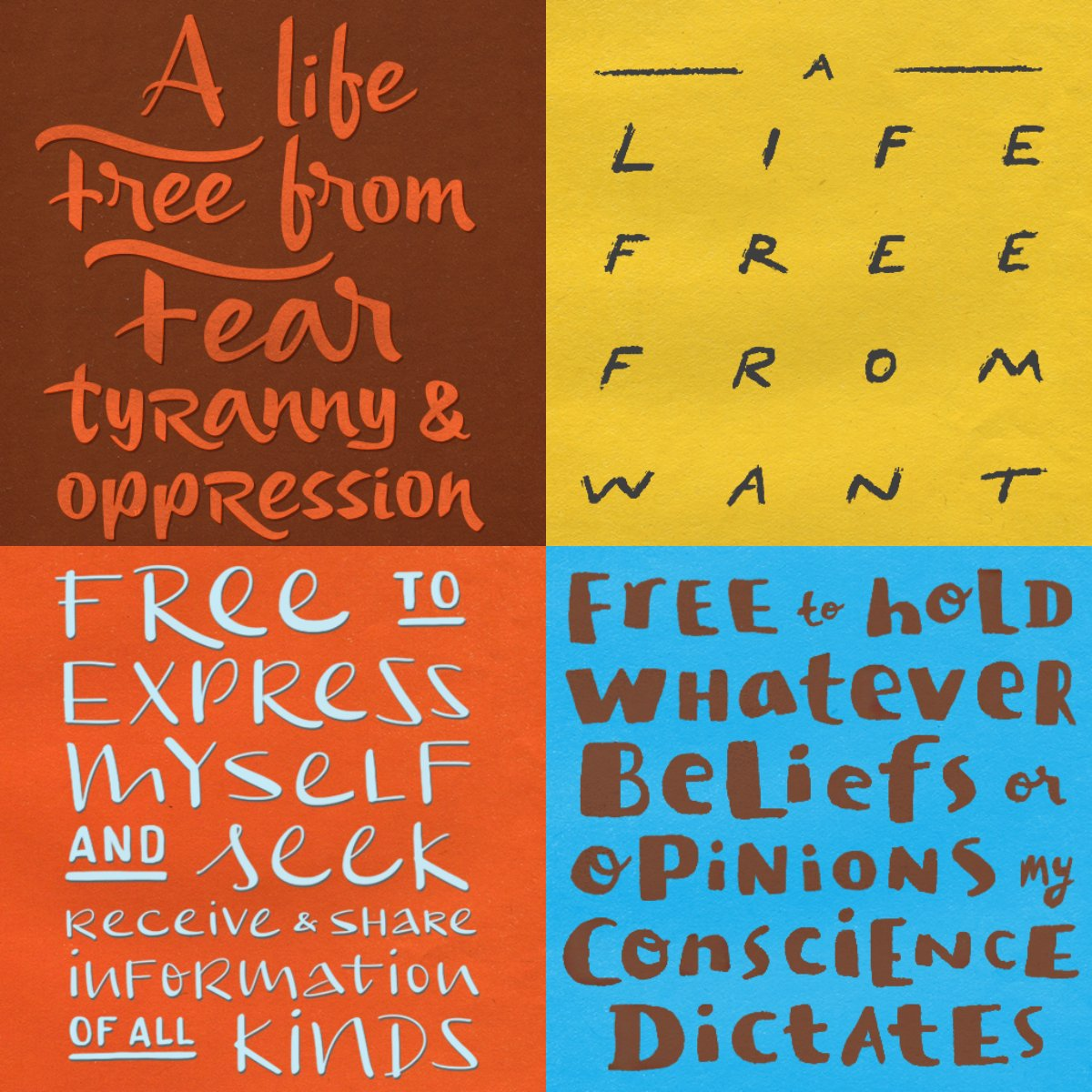 Join us today - #HumanRightsDay - to explore the meaning of humanity's inalienable freedoms https://t.co/x2kp5GiVj4 https://t.co/frNypPJTWF