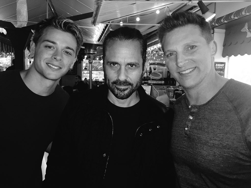 Back with my buddies @MauriceBenard @duelly87 https://t.co/23tv7r24KR