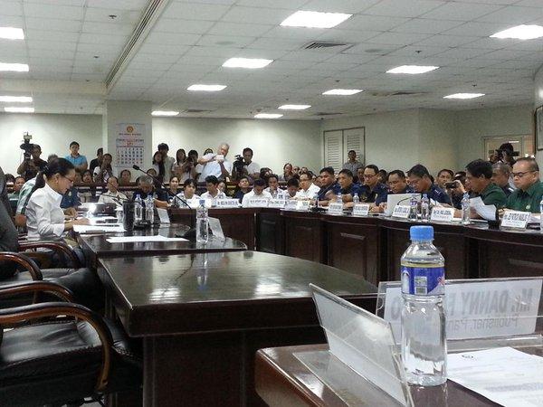 Sen Poe Conducts Hearing On Aksyon Radyo Iloilo Assault In November