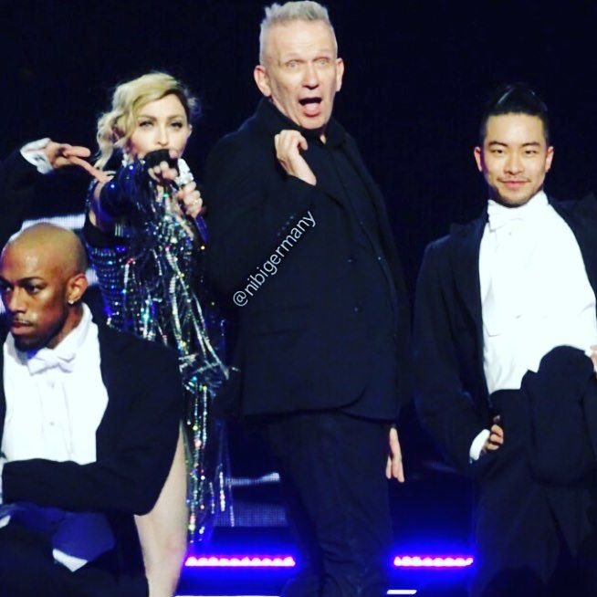 Dancing with the Wonderful and Amazing JP Gaultier ???????????????????????????????????????? Tonights Unapologetic Bitch! ❤️ #rebelhearttour https://t.co/5vo4TDvQdN