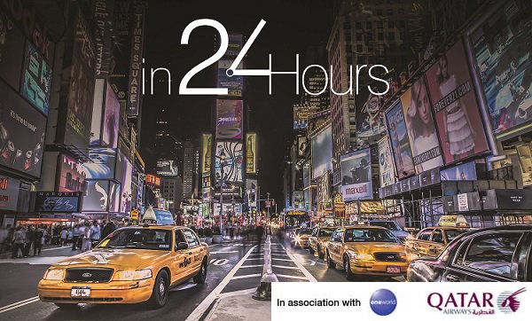 "We've partnered with @CNNi to discover popular destinations ""In 24 Hours""."