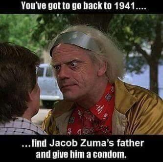 Oh for time travel... #BackToTheFuture #ZumaMustFall https://t.co/qHorMbJR8J