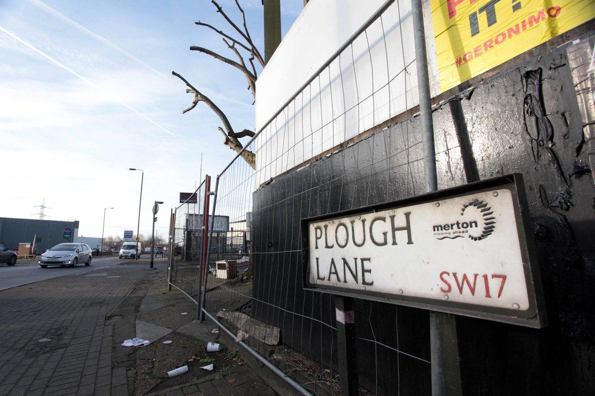 #DDayforDons: @AFCWimbledon battle for Plough Lane #bringthedonshome https://t.co/5fKTigDbCc https://t.co/J6as8FdAOn