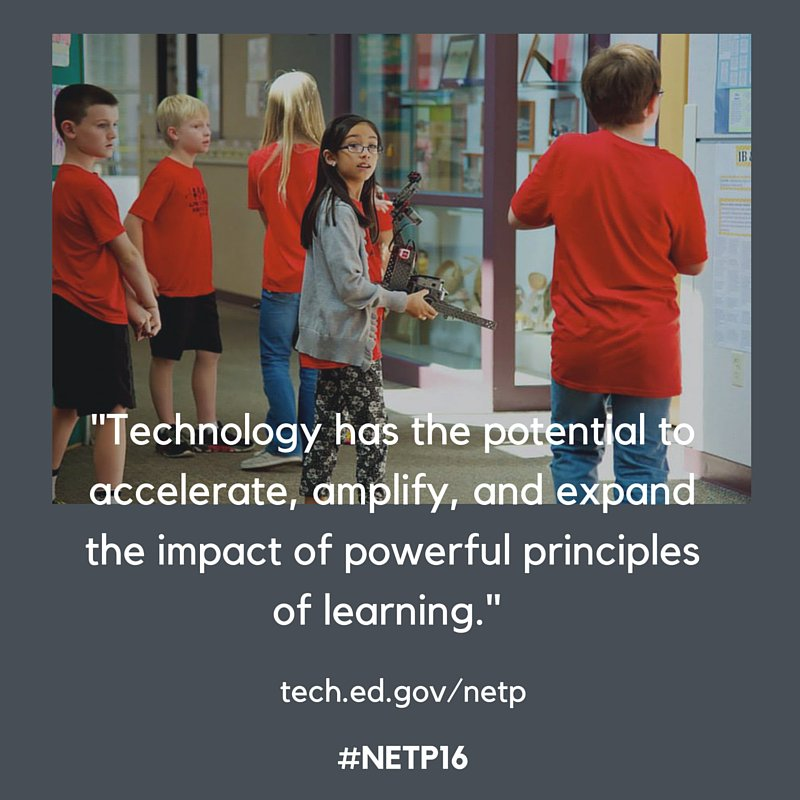 Technology can be a powerful tool for transforming learning. Check out #NETP16: https://t.co/WBlUWfTH9X #edtech https://t.co/Pz63QdYgAC