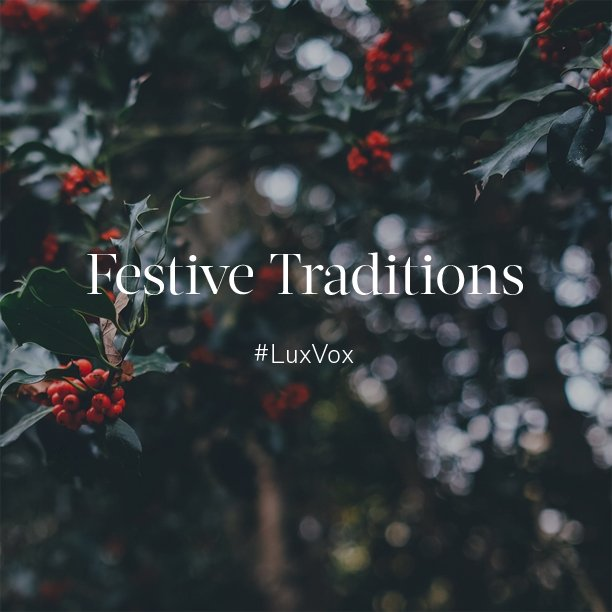 Join us and @Fortnums at 1 for our #LuxVox chat, delving into #Luxury at #Christmas and our #Festive Traditions https://t.co/4V19BF5aNc