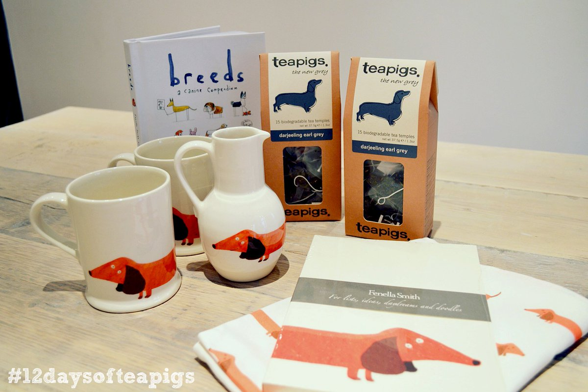 Dachshund lovers, you may want to sit down for this one. RT to win goodies from @fenella_smith! #12daysofteapigs https://t.co/OxV449CS4b