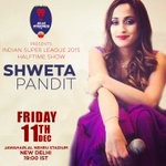 RT @DelhiDynamos: Popular Bollywood vocalist @ShwetaPandit7 will be performing at The Den during the halftime of tomorrow's semifinal. http…