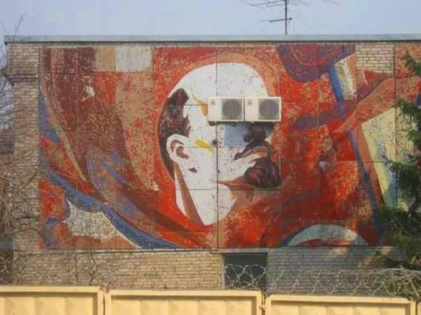 Ленин во владивостоке свеж, молод и красавчик! https://t.co/aS7OJqJB4z