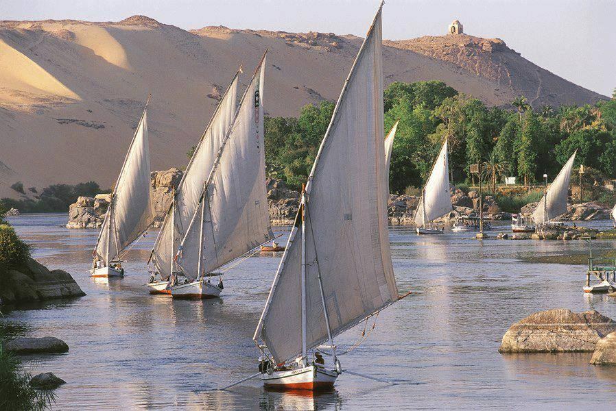 #thisisegypt  What a lovely sunset sailing on the Nile https://t.co/msRgANqSeK