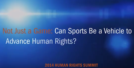 More than a game: The nexus of sport and human rights https://t.co/yb3e0DjIgD #HumanRightsDay https://t.co/BTlqtagrwb