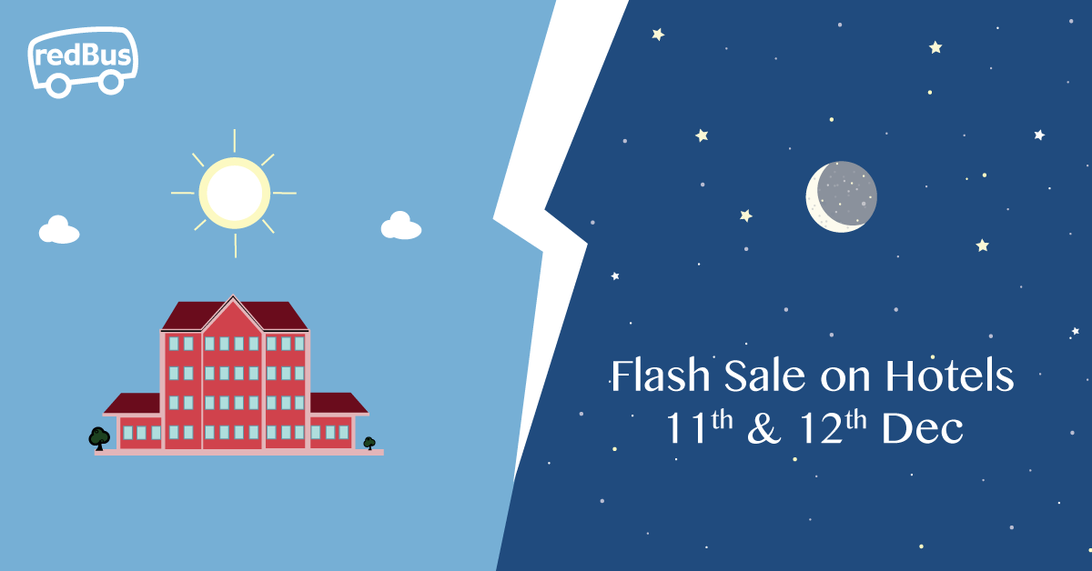 #redBushotels #flashsale in on! Get 60% off on hotels #promocode:RBNEW60   Hurry! Book now: https://t.co/w5c76tV1pR https://t.co/DIeiubA9oW