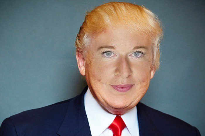 It's genuinely creepy how well Katie Hopkins' face fits on Trump's head. https://t.co/MEBfdxI48S