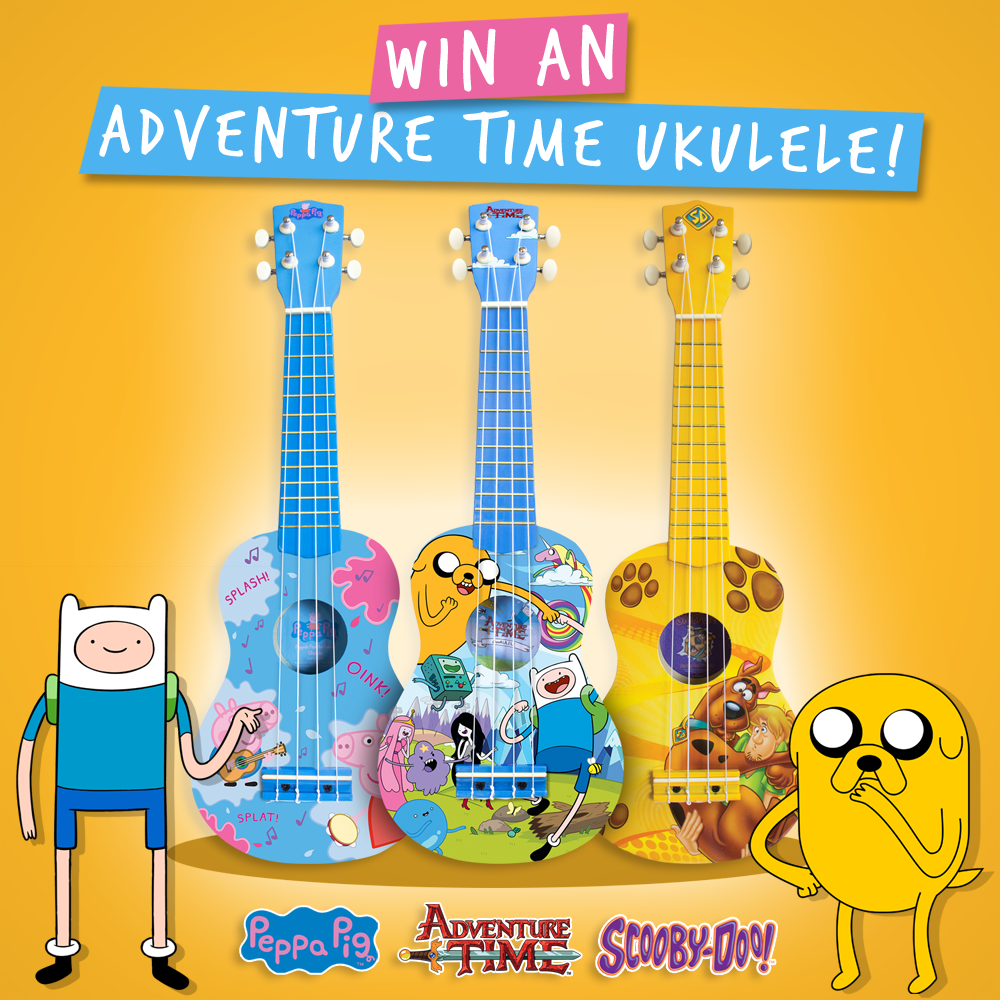 Competition to win a brilliant Adventure Time Ukulele To enter retweet & visit https://t.co/uYxpwmNoUX #ggadventure https://t.co/FGo382uLKW