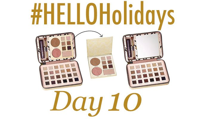 #HelloHolidays day 10! RT for your chance to win this Tarte palette! https://t.co/NAayJHhMfK https://t.co/j1KILi5vw4