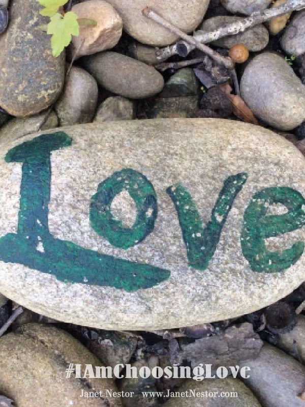 When life gets rocky - All we need is Love  #IAmChoosingLove  #LoveChangesPeople https://t.co/evcqBc5WKW