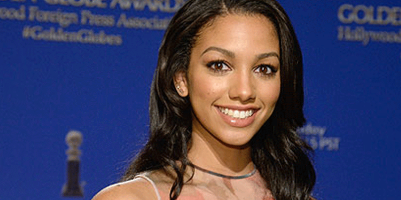 Jamie Foxx's daughter, Corinne, shines in her first outing as Miss Golden Globe