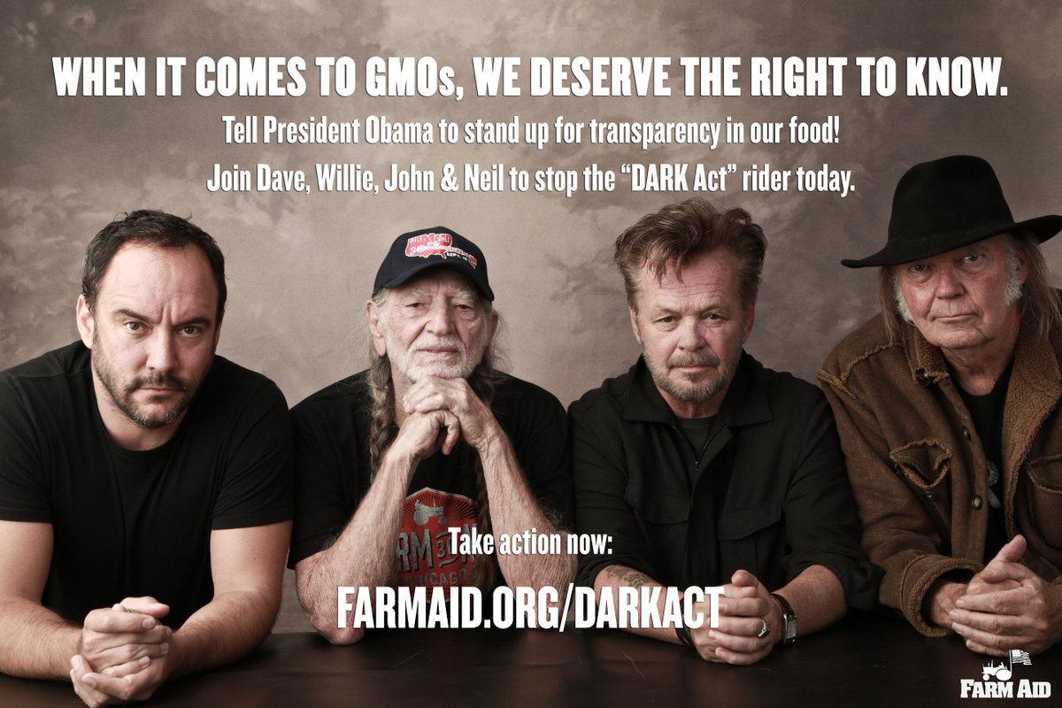 When it comes to #GMOs, we deserve the right to know. Stop the #DARKAct! https://t.co/f5pwdHHqB6 https://t.co/xtUdzdvNtB