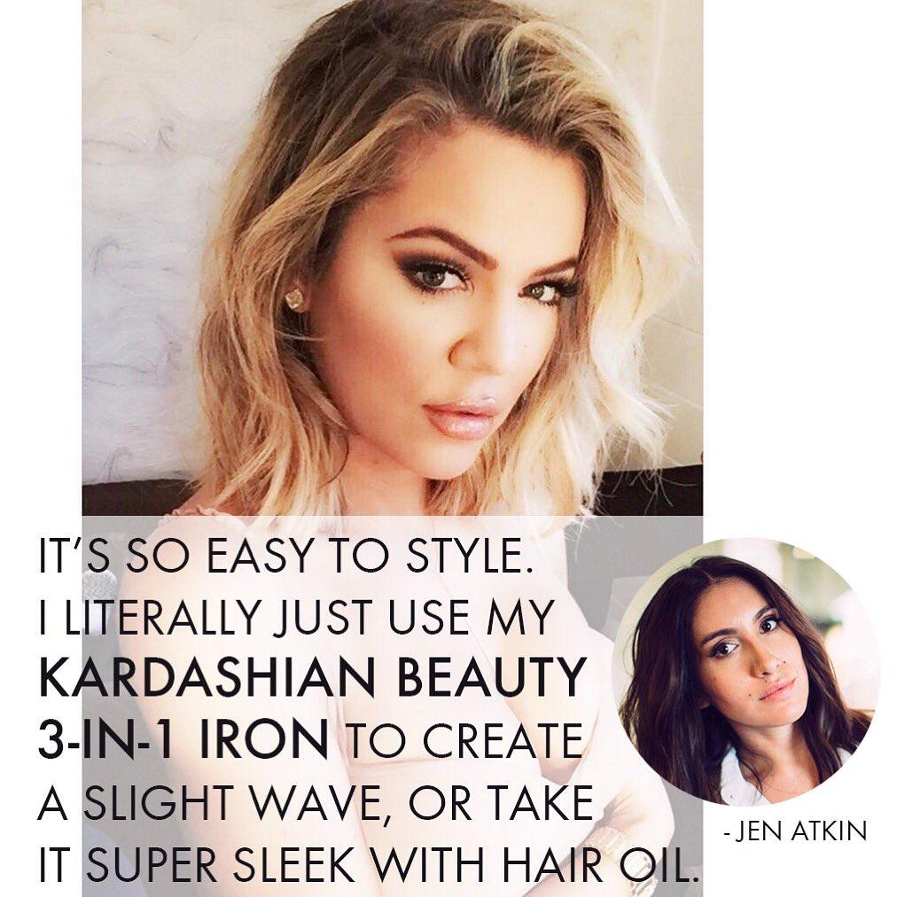 RT @Kbeautyhair: Hair guru @jenatkinhair agrees, our 3-in-1 tool is the best for creating loose, gorgeous waves @target @macys @kohls https…