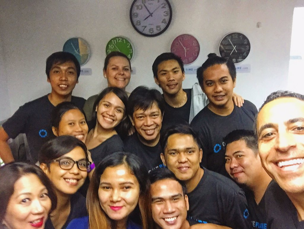 The fast growing @OnePlanetOps team in The Philippines...great people, huge potentials! #Makati #Manila https://t.co/zdVuJW8L9r