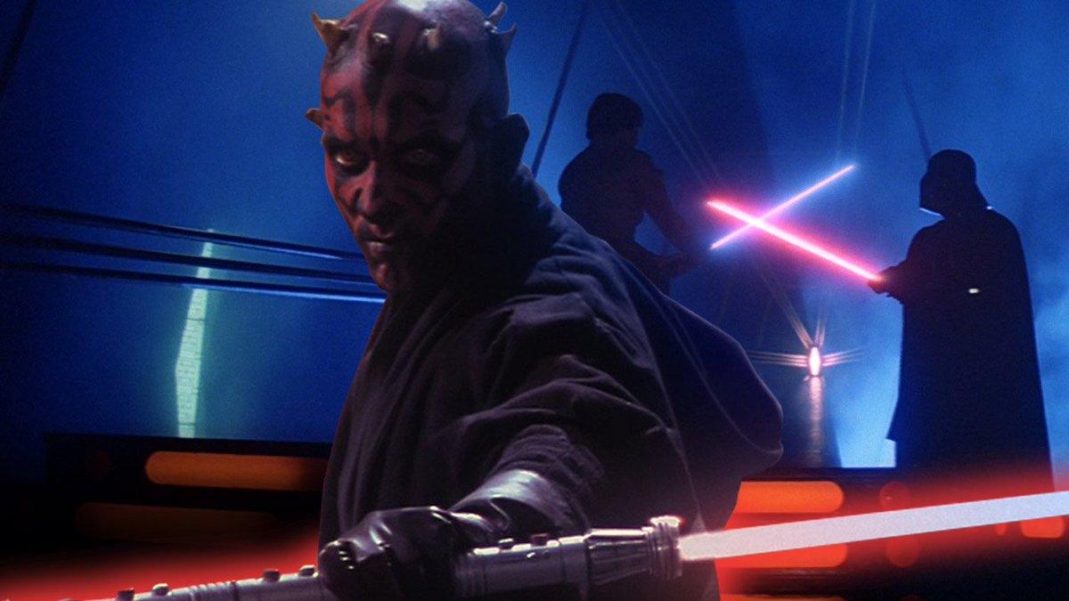 From Darth Maul in Phantom Menace to Luke vs Vader, we rank the #StarWars lightsaber duels: https://t.co/GvPU9USder https://t.co/wRJWBTAMEy