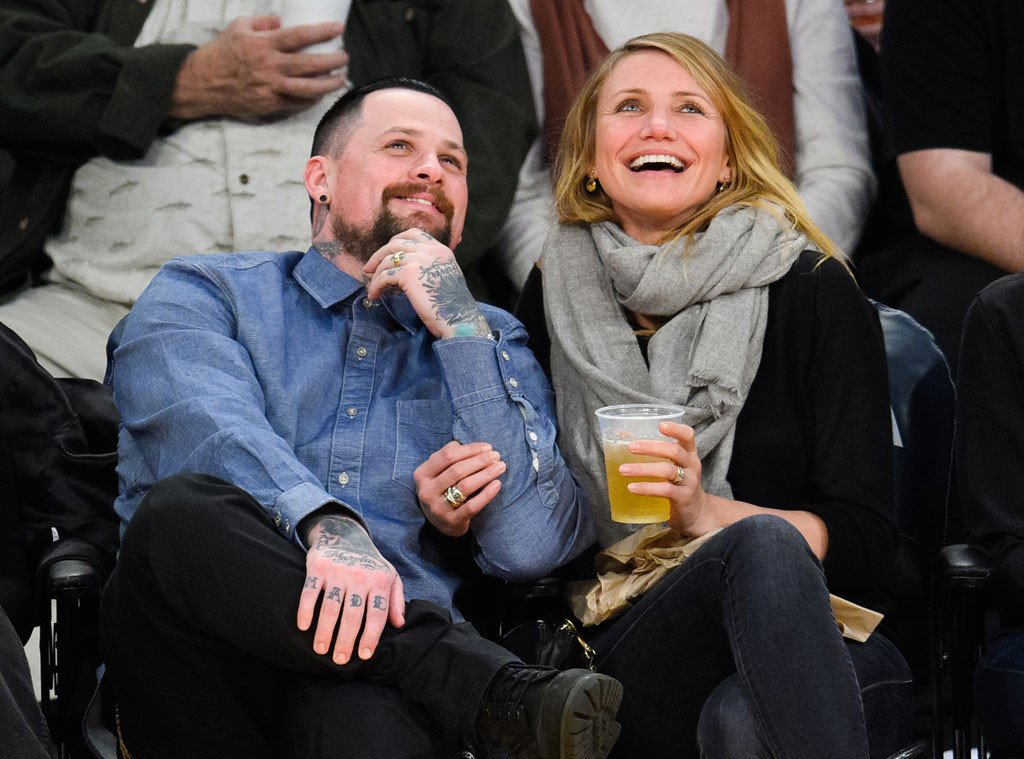 Talk about a throwback! See Cameron Diaz and Benji Madden hanging out 11 years ago: