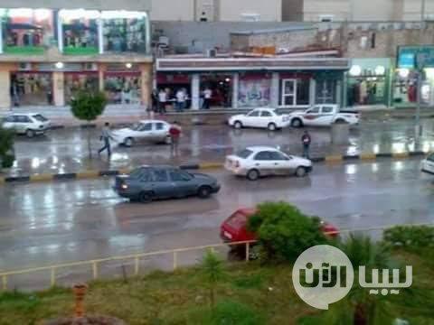 #ليبيا_الآن خير السماء، المطر، في #اجدابيا! https://t.co/hui7HTrnSY