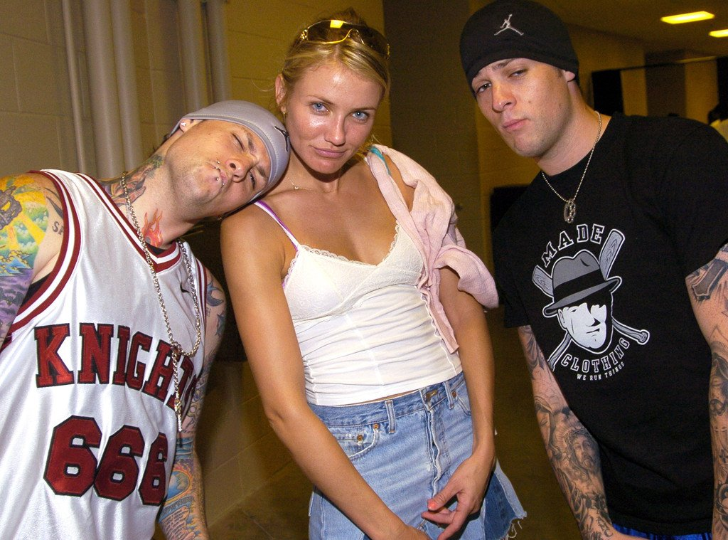 Now THIS is a throwback! If Benji Madden and Cameron Diaz only knew…