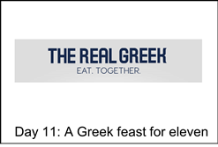 Advantage 12 Days of Christmas competition: Day 11 - Win Greek lunch for 11 @ The Real Greek https://t.co/l2BGzkFg7g https://t.co/2jTsDlriQY