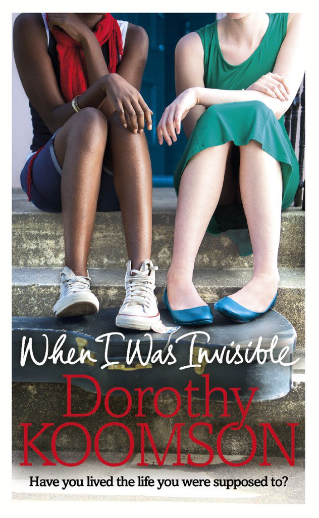 Remember that book I finished the other week? Well here is the beautiful cover. #WhenIWasInvisible is out May 2016. https://t.co/psBar845Gx
