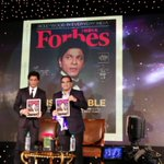 RT @forbes_india: @iamsrk  launches the 2015 #ForbesIndiaCelebrity100 special issue https://t.co/s0nTlAJtof