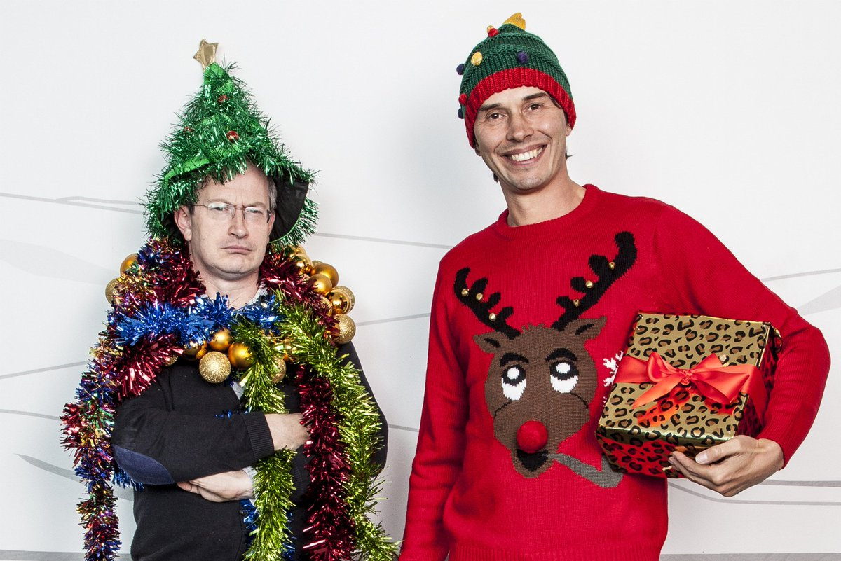Festivities start for me with @ProfBrianCox & @robinince doing they're Christmas Compendium of Reason #GeekOut https://t.co/zatN9M4PmD