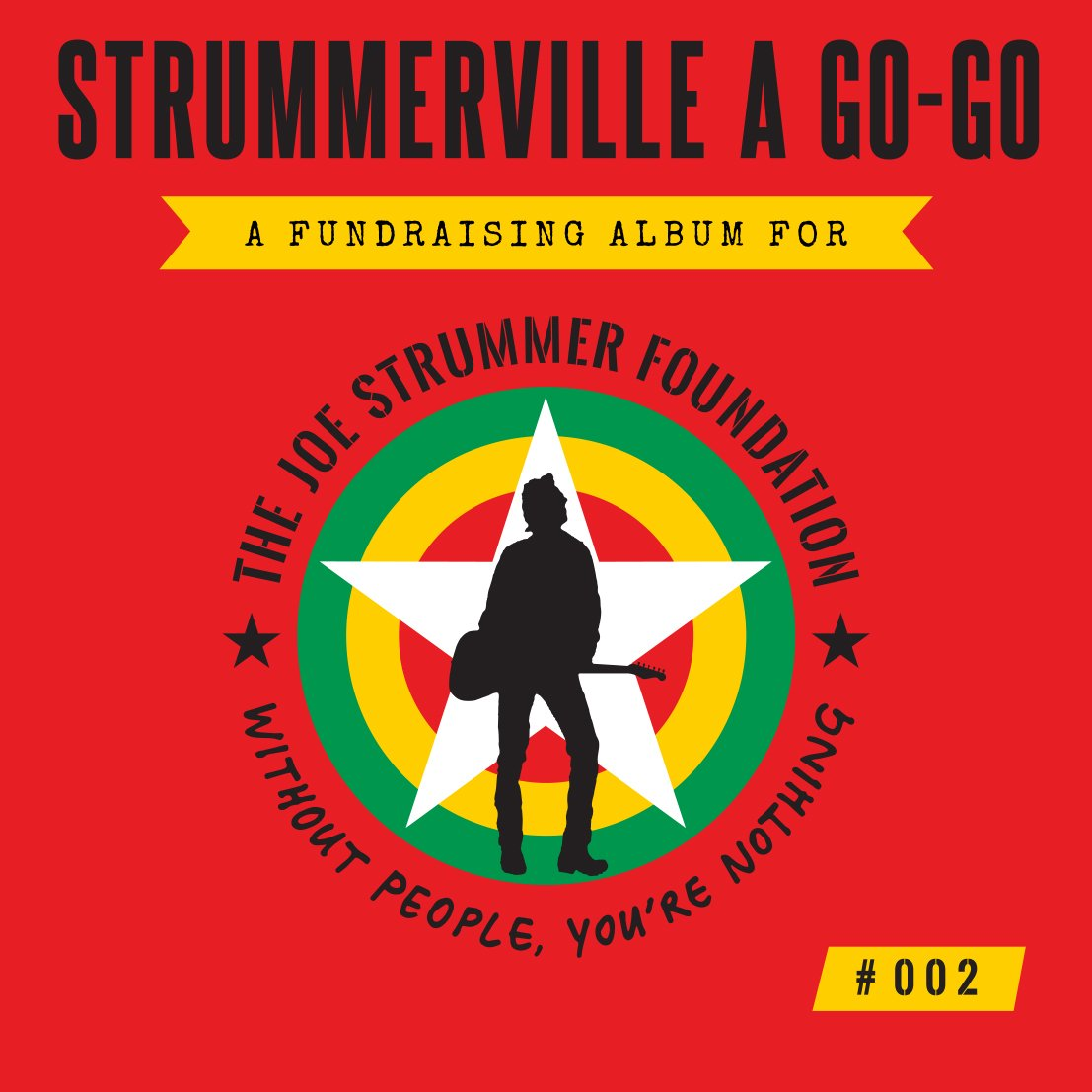 Excited to announce our 2nd #fundraising album #STRUMMERVILLEAGOGO2: https://t.co/NdafRhPTJC https://t.co/Xoqf6tNWiB