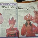 RT @New_Theatre: Thanks to The Echo for this lovely double-page spread on Aladdin, just in time for @panto_day and opening night! https://t…