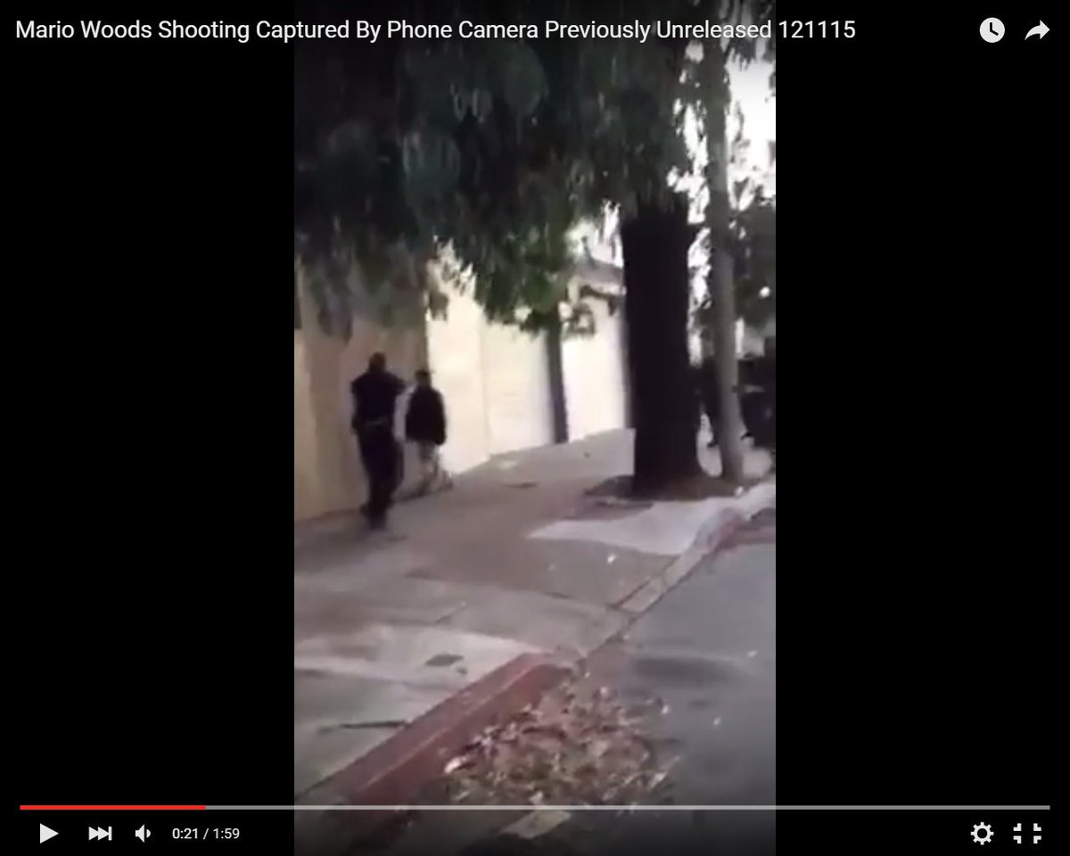 NEW VIDEO: #Mariowoods appears to not have threatened officers before he was killed. https://t.co/l9mxfZxaCm https://t.co/wlV8MyOfNp