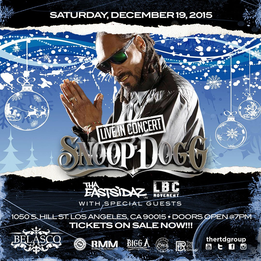 Official show just added by popular demand dec 19 at @TheBelascoLA ​ RMM N RTD DOES IT AGAIN #rmmpercy n #rtdgroup https://t.co/5d9qPEkF5c