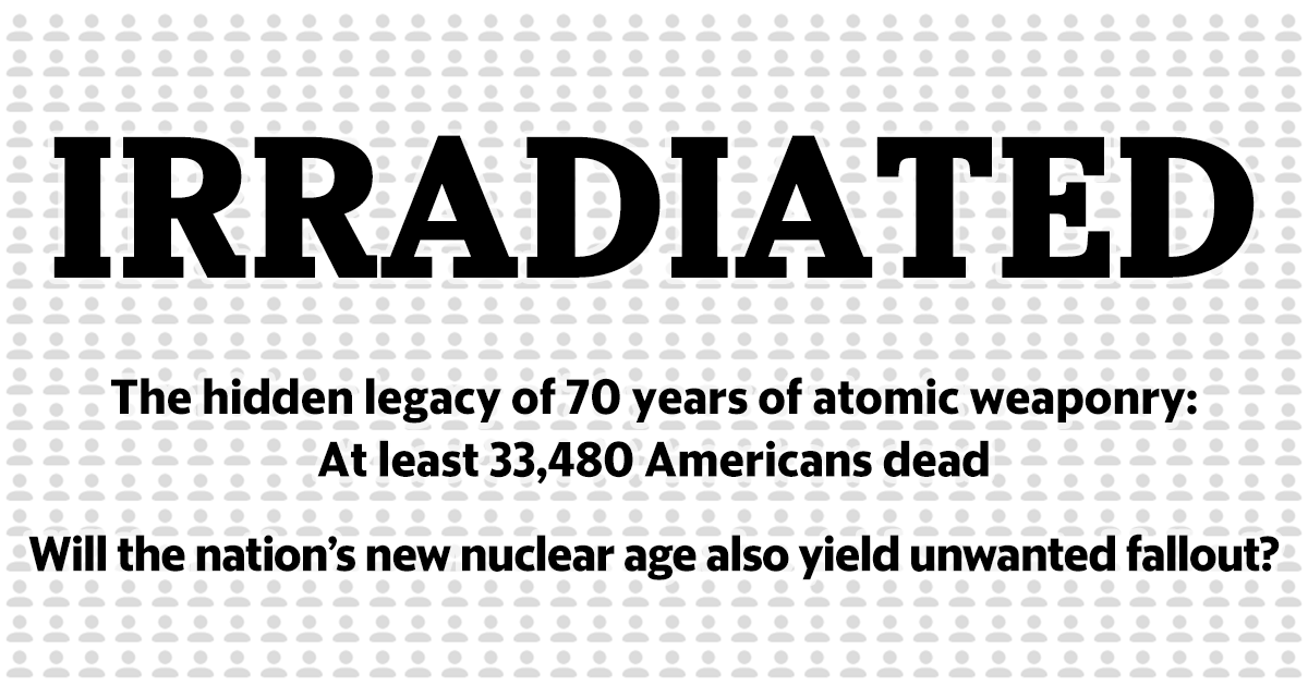 Winning the Cold War left a legacy of death on American soil:a special report #Irradiated https://t.co/nW4qlUR55p https://t.co/kZt3HRRDVo
