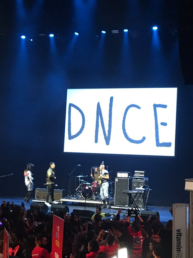 Kicking things off with @DNCE! #Z100JingleBall #allaccesslounge https://t.co/igjNv7O4Wz